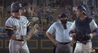 Devlin appeared in the 1989 baseball film classic 'Bull Durham' with Kevin Costner. Credit: Contributed