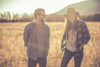"""Valk and her guitar and songwriting counterpart, Connor Gladney, make up Skout's """"acoustic duo""""."""