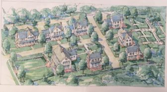 Rendering of a future Roger Sherman Inn site.