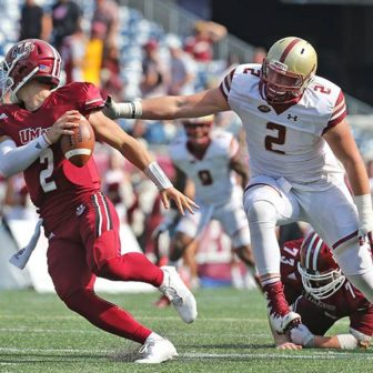 BC's Zach Allen. Credit: Boston College Athletics/John Quackenbos