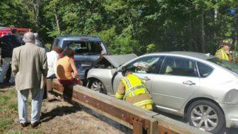 PHOTOS: 8-Car Accident Snarls Merritt Parkway Traffic in New