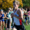 Junior Max Koschnitzke on his way to finishing 17th overall, making him New Canaan's top finisher and one of three Rams to qualify for the 2016 All-FCIAC Second Team along with Alex Urbahn and senior co-captain Michael St. George. Credit: Cynthia Brown Studio