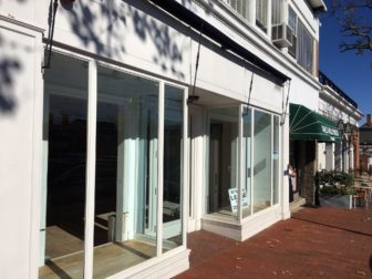'Groove' will open at 115 Elm St. in New Canaan following a major interior renovation. The commercial space has been vacant since mid-August, when Ralph Lauren Kids left. Credit: Michael Dinan