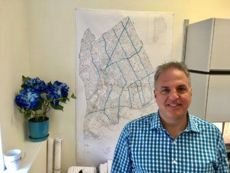 New Canaan Town Planner Steve Palmer. Credit: Michael Dinan