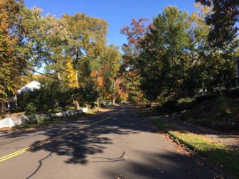 Residents at 179 Heritage Hill Road have requested signage to alert motorists to their hidden driveway. It's on the right as you travel down (east) toward Forest Street in this photo. Credit: Michael Dinan