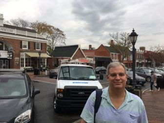 New Canaan's Steve Eno is founder of TeachersWhoTutorCT.com. Credit: Michael Dinan