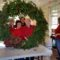 Members of the New Canaan Beautification League and New Canaan Garden Club, created wreaths, garlands and other decorations at the New Canaan Nature Center, on Dec. 1, 2016. Credit: Michael Dinan