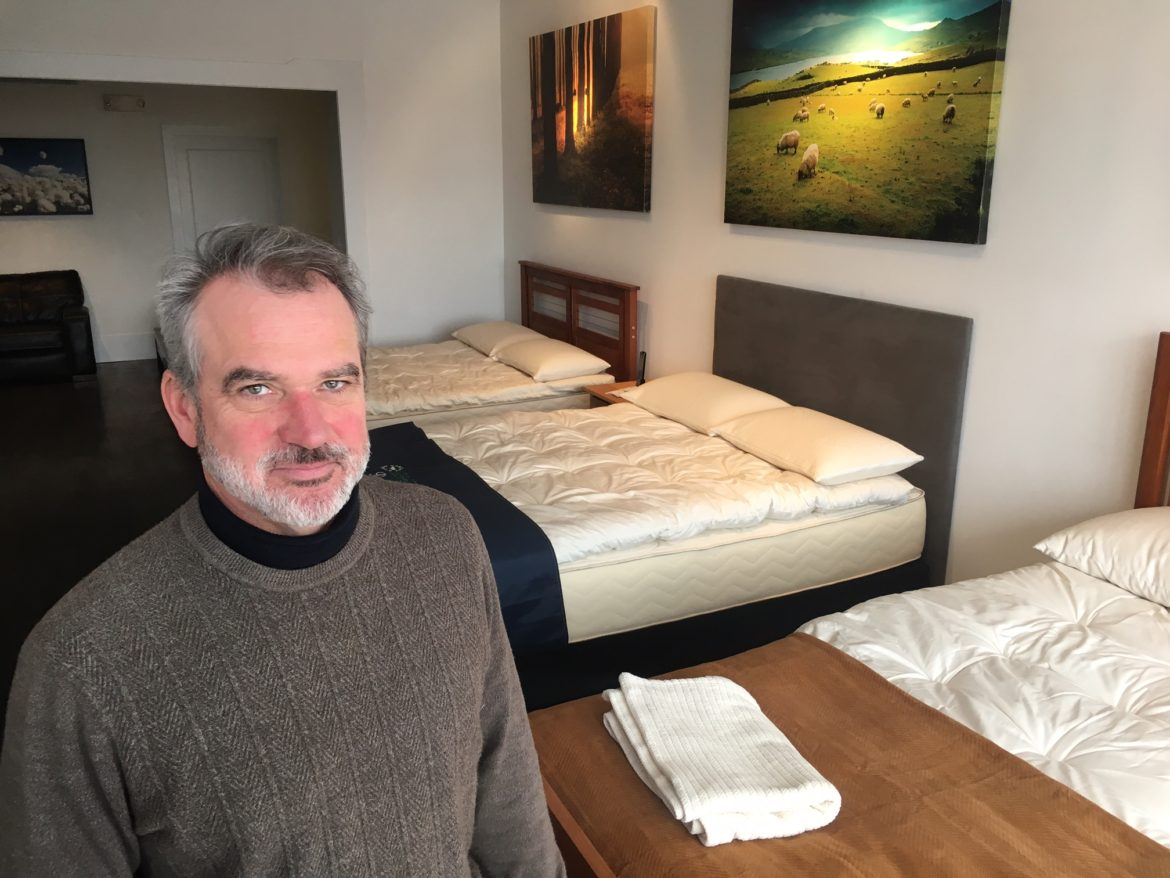 'I've Had a Great Reception': Organic Mattress Shop Opens on South Avenue
