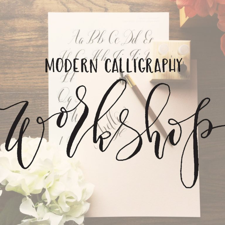 Modern calligraphy workshopnewcanaanite