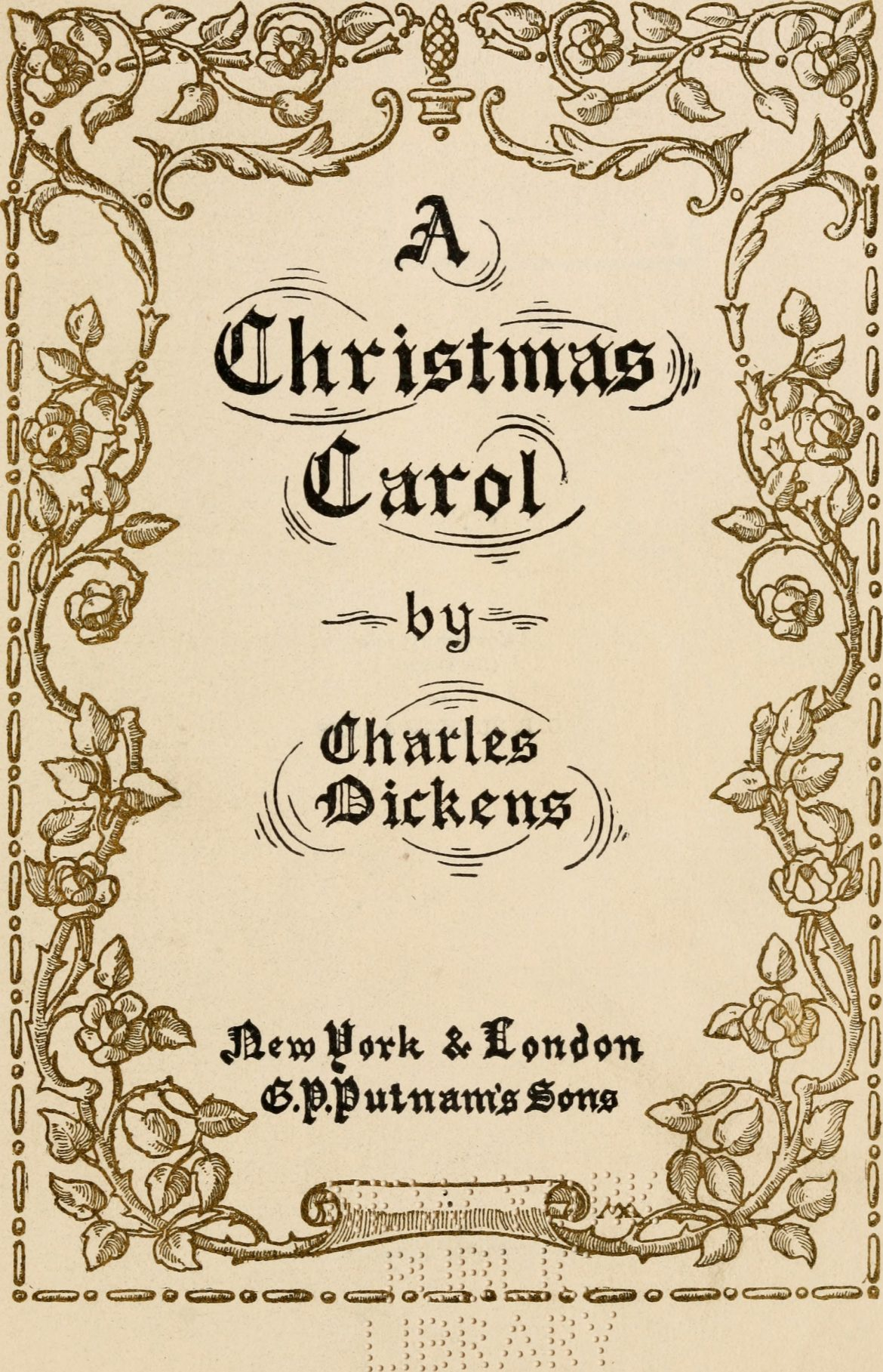 charles dickenss a christmas carol was an enormous success as soon as it was published in 1843 and has never been out of print new canaan library offers - When Was A Christmas Carol Published