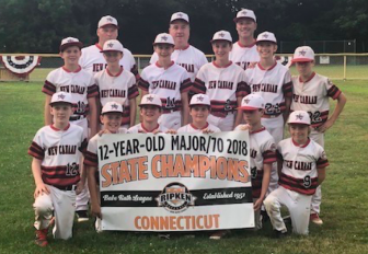 New Canaan 12U All Stars Advance to the Cal Ripken New