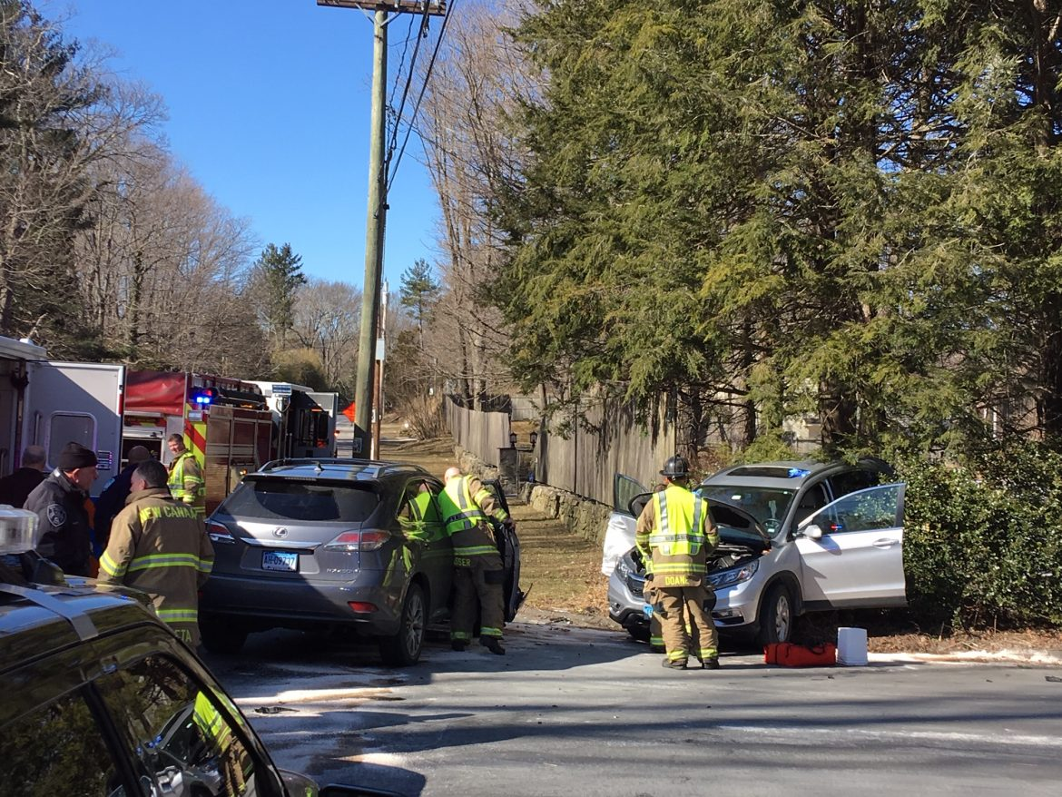 Three Sent to Norwalk Hospital Following Car Crash Thursday [UPDATED]